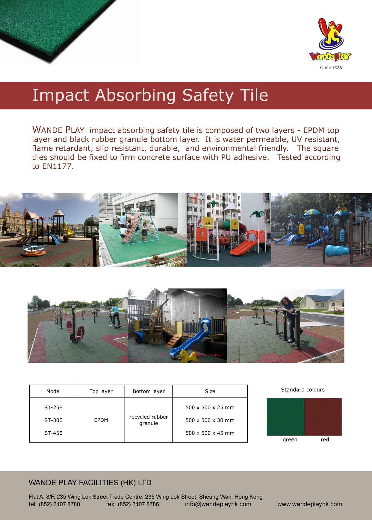 safety tile leaflet